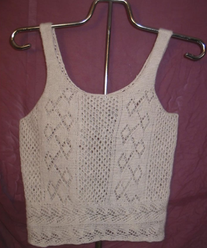 Diamonds and Purls Camisole