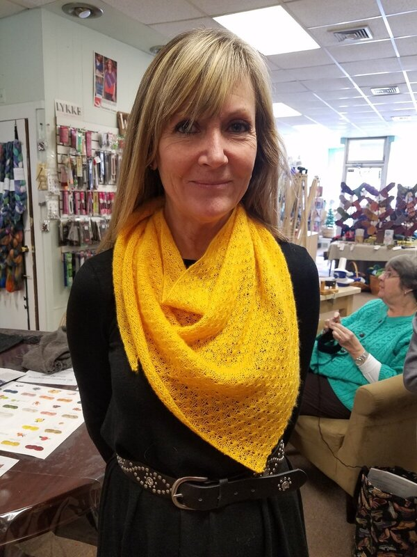 Mindy's Star Stitch Shawl