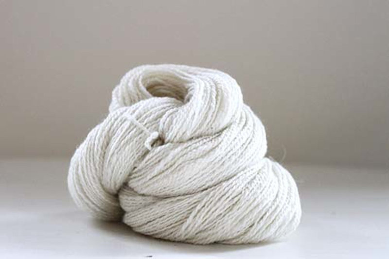 100% Premium Cashmere Natural White